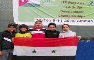 نتائج جيدة لمنتخب سورية لكرة المضرب للأشبال والشبلات في بطولة غرب آسيا