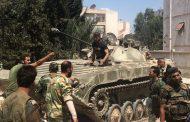 القوات السورية علقت عملياتها الحربية في حلب