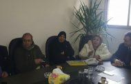 الفنان دريد لحام يزور مقر تجمع سورية الأم ويشارك في اجتماع اللجنة الثقافية