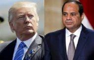 ترامب والسيسي يبحثان تطوير العلاقات وقمة الرياض