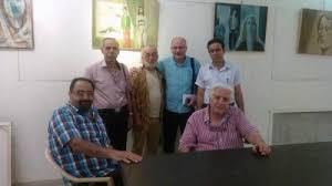 معرض وندوة حول تجربة الفنان التشكيلي جورج عشي