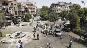 قتلى وجرحى  ضحايا تفجيرات إرهابية استهدفت دمشق