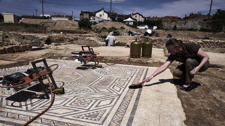 اكتشاف حي روماني من القرن الأول الميلادي في فرنسا
