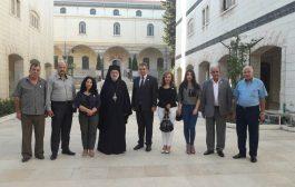 تجمع سورية الأم في حضرة الكنيسة المريمية