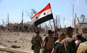 """الجيش السوري """"يكسر حصار تنظيم داعش لدير الزور"""""""