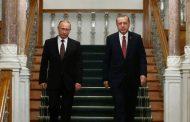 الأزمة السورية واستفتاء الأكراد يتصدران محادثات بوتين وأردوغان في أنقرة