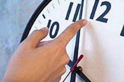 بدء العمل بالتوقيت الشتوي اعتبارا من يوم الجمعة 27 / 10