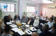 اجتماع اللجنة التحضيرية للمؤتمر الاقتصادي: