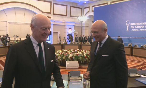 نائب وزير الخارجية الكازاخي.. مفاوضات أستانا مناسبة لتخفيف معاناة السوريين
