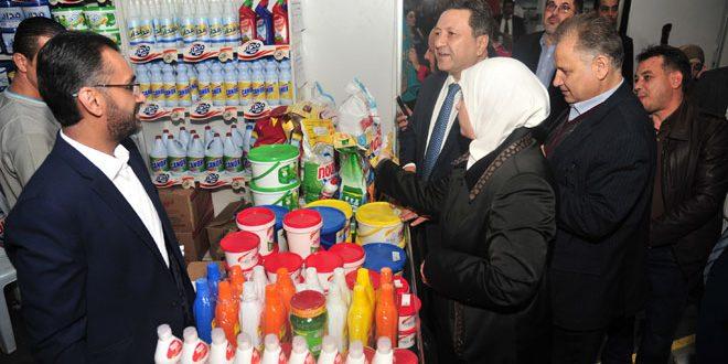 مهرجان التسوق الشهري ينطلق بصالة الجلاء بالمزة بمشاركة أكثر من 100 شركة