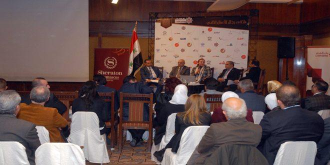 الملتقى الثاني لرجال الأعمال: تأسيس مجتمع اقتصادي استثماري متطور
