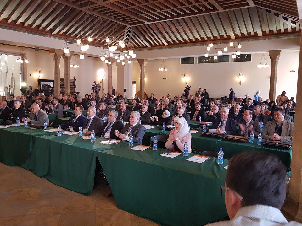 افتتاح المؤتمر الاقتصادي الأول لتجمع سورية الام