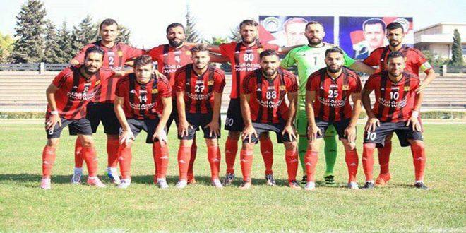 الجيش يتصدر ترتيب الدوري السوري الممتاز لكرة القدم