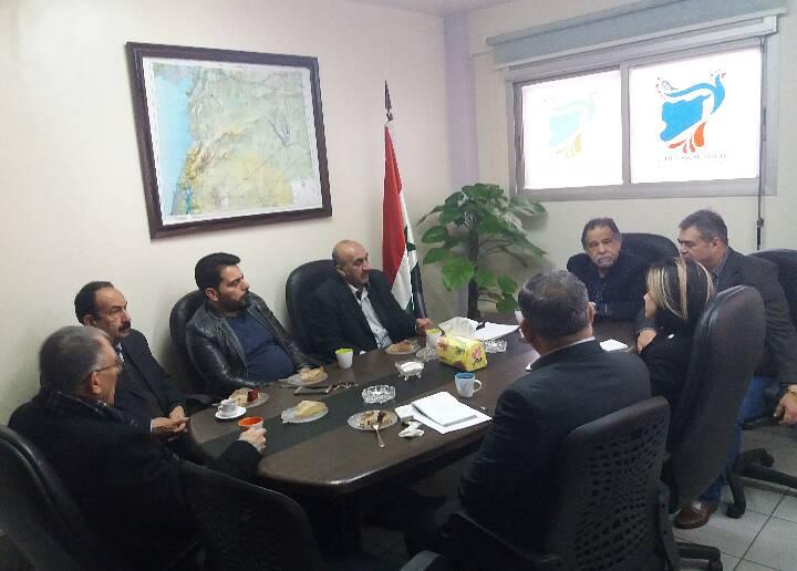 اللجنة الثقافية في تجمع سورية الأم تستعد لإقامة الأسبوع الثقافي..