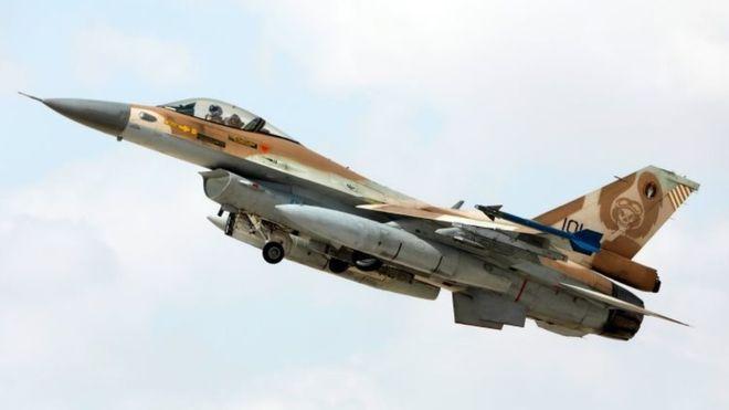الجيش الإسرائيلي يعلن عن تحطم مقاتلة بعد إصابتها بنيران سورية