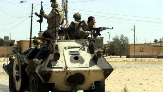 """الجيش المصري يشن عملية عسكرية """"شاملة"""" في سيناء"""
