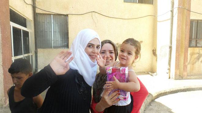 ترشيح المتسابقة السورية ابتسام العرق لمرحلة القصر الملكي في برنامج ملكة المسؤولية الاجتماعية