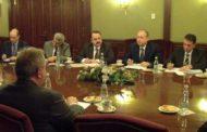 غانم من موسكو : التوقيع على خارطة الطريق التي تتضمن كل المشاريع التي جرى الاتفاق عليها مع الجانب الروسي بخصوص قطاع النفط والثروة المعدنية