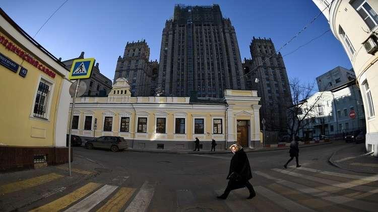الخارجية الروسية تصدر بيانا بخصوص الغارات الإسرائيلية الأخيرة على سورية