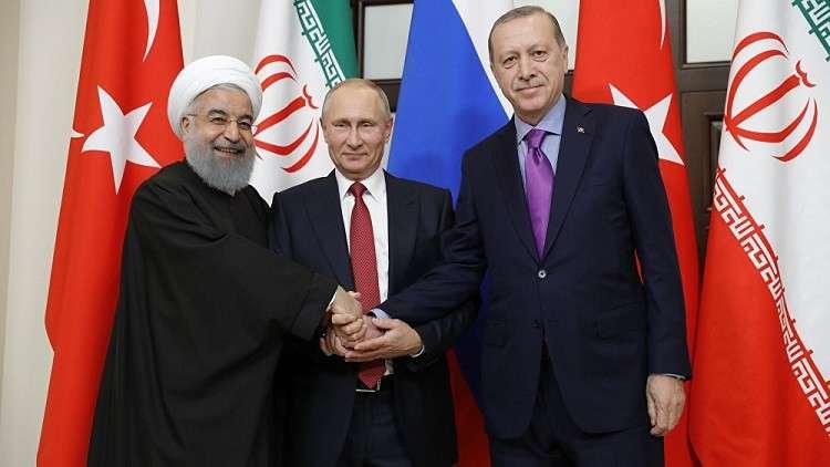 قمة ثلاثية محتملة بين بوتين وأردوغان وروحاني في نيسان