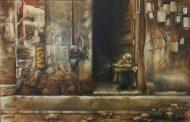 عندما تتحوّل اللوحة إلى فضاءات مفتوحة على كل احتمالات الدهشة  معرض محمد زيدان في صالة خانجي حلب 2018