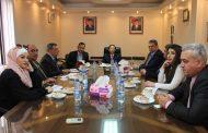 وفد تجمع سورية الأم يزور السفارة الاندونيسية بدمشق