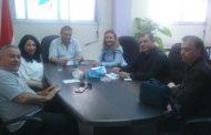 اجتماع اللجنة الاعلامية في تجمع سورية الأم