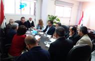 اللجنة العلمية في تجمع سورية الأم تعقد اجتماعها وتناقش محور التقانات الحيوية