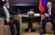 الرئيس الأسد يجري محادثات مع بوتين في منتجع سوتشي الروسي