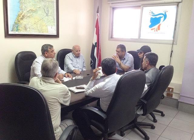 لجنة اعادة الاعمار في تجمع سورية الأم تتابع آلية تنفيذ الاستراتيجيات الموضوعة للعام الحالي