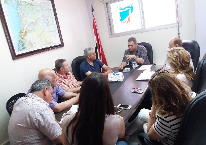 لجنة البناء الاداري في تجمع سورية الأم تناقش اعمالها ومهامها المقررة وخاصة ما يتعلق بالمدينة الذكية