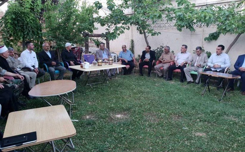 الشيخ القطناني يقيم حفل افطار لتجمع سورية الام وسط اجواء من الود و المحبة