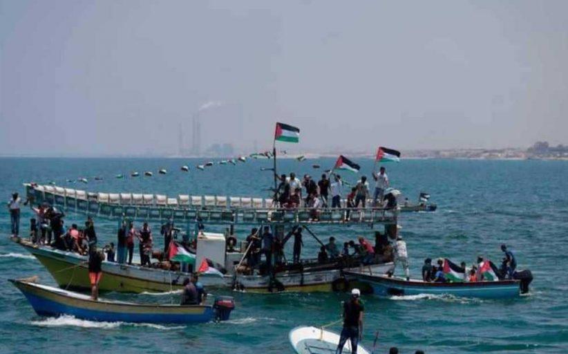 الجيش الإسرائيلي يوقف سفينة