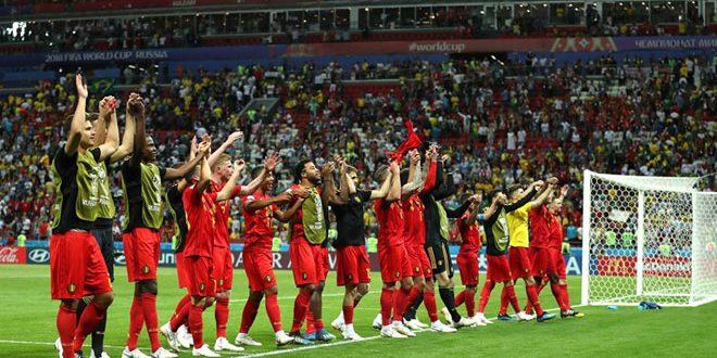 بلجيكا تنهي أحلام البرازيل وتهزمها 2-1 في دور الثمانية بمونديال روسيا