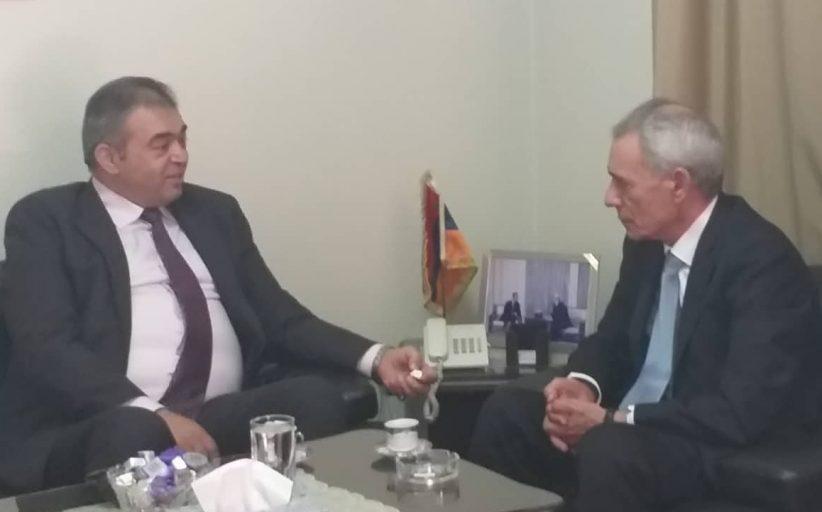 وفد تجمع سورية الام يلتقي السفير الأرميني بدمشق