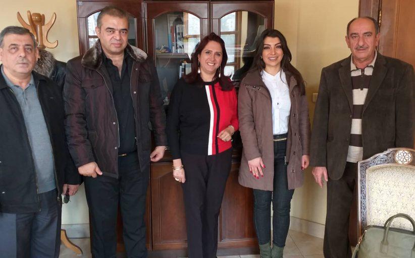 تجمع سورية الأم يواصل زياراته في إطار التحضير للمؤتمر الاقتصادي الثاني ويلتقي مؤسسات رسمية ومصرفية