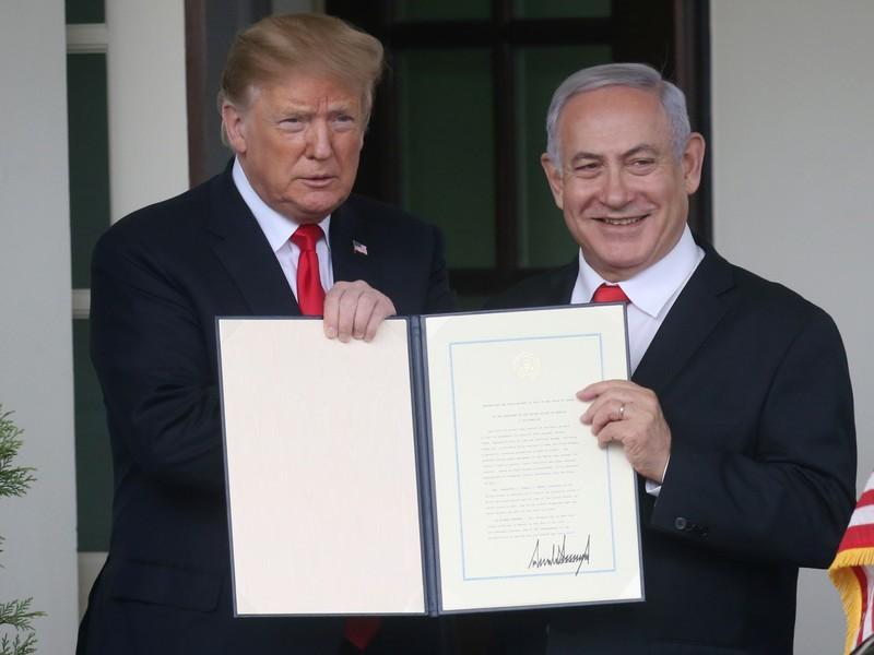 قرار ترامب بشأن الجولان دفعة لنتنياهو وخطر على إسرائيل على المدى الطويل