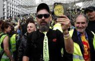 مظاهرات جديدة لمحتجي السترات الصفراء في فرنسا وماكرون يختتم الحوار الموسع