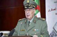 الجيش الجزائري يحذر من