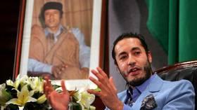 عائلة القذافي تقاضي محتجزي الساعدي
