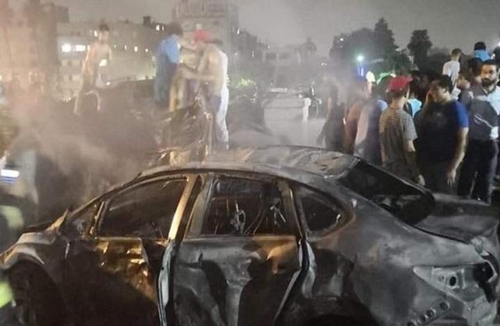مقتل 19 في انفجار سيارة بوسط القاهرة