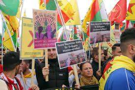 ألمانيا.. الآلاف يتظاهرون احتجاجا على العملية التركية في شمال شرقي سوريا