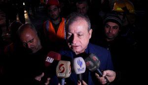 وزير النفط: فرق الإطفاء سيطرت على الحريق جراء الاعتداء الإرهابي في مصفاة حمص والفرق الفنية بدأت بأعمال الصيانة في المنشآت المتضررة