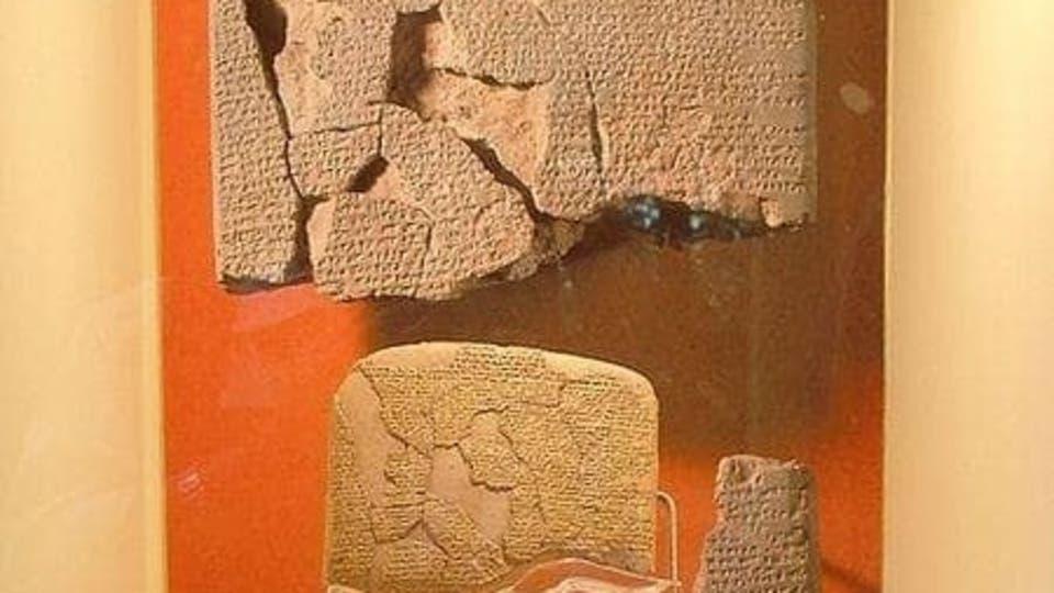 أقدم معاهدة سلام في تاريخ البشرية (سورية -مصرية)