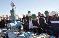 سيستخدم في عنفات توليد الطاقة الكهربائية.. دخول بئر جحار 8 في الخدمة بطاقة 350 ألف متر مكعب من الغاز يوميا