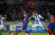 برشلونة يبتعد أكثر عن ريا ل مدريد بالتعادل بهدف لمثله مع سوسيداد