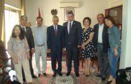 تجمع سورية الأم يزور سفارة جمهورية أرمينيا بدمشق