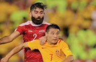 قائد منتخب سورية لكرة القدم: هدفنا النقاط الست ولن نتهاون في تحقيق حلم جماهيرنا بالتأهل إلى مونديال روسيا