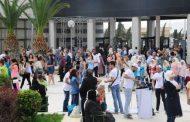 معرض دمشق الدولي في يومه الثالث.. طرقات ومنافذ عبور جديدة سهلت دخول 175 ألف زائر