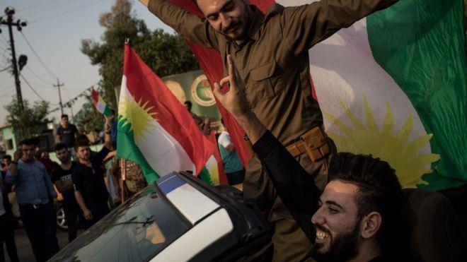 استفتاء إقليم كردستان: أكثر من 92 في المئة أيدوا الانفصال عن العراق .. والعبادي يطالب بالغائه